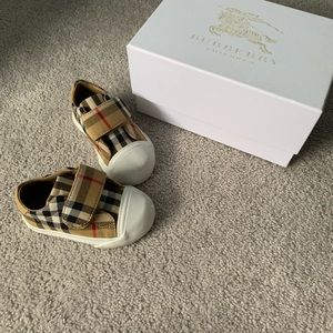 Toddler Burberry Sneakers
